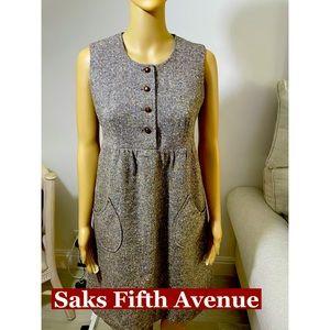 Saks Fifth Avenue  Empire waist Dress Sz 4